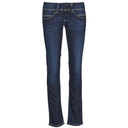 Υφασμάτινα Γυναίκα Τζιν σε ίσια γραμμή Pepe jeans VENUS μπλέ / H06