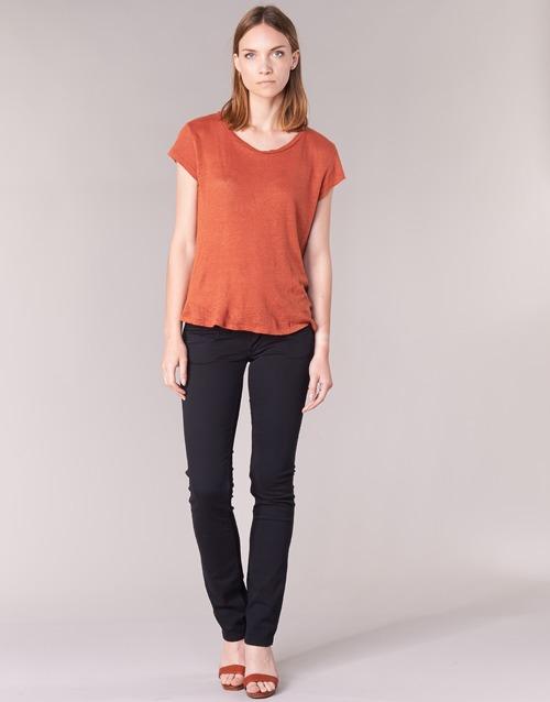 Υφασμάτινα Γυναίκα Παντελόνια Πεντάτσεπα Pepe jeans VENUS Black / 999