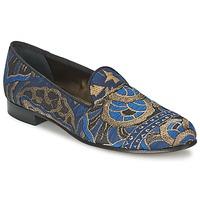 Παπούτσια Γυναίκα Μοκασσίνια Etro 3046 Black / Μπλέ