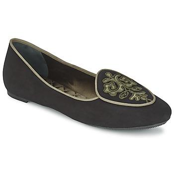Παπούτσια Γυναίκα Μπαλαρίνες Etro 3059 Black / KAKI