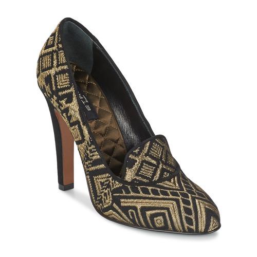 Παπούτσια Γυναίκα Γόβες Etro 3055 Black / Dore