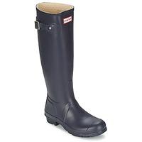 Παπούτσια Γυναίκα Μπότες βροχής Hunter Women's Original Tall μπλέ