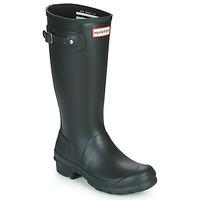 Παπούτσια Παιδί Μπότες βροχής Hunter ORIGINAL KIDS Black