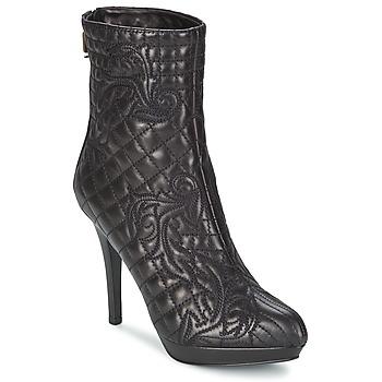 Παπούτσια Γυναίκα Μποτίνια Versace MARGHERITA Black