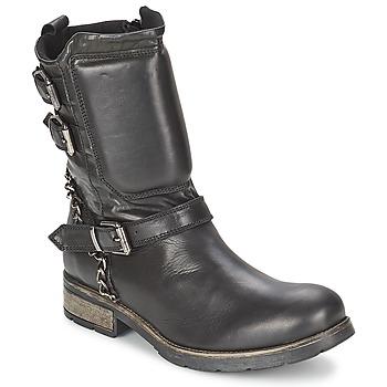 Παπούτσια Γυναίκα Μπότες Casual Attitude SERIS Black