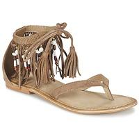 Παπούτσια Γυναίκα Σανδάλια / Πέδιλα Vero Moda VMKAYA LEATHER SANDAL COGNAC