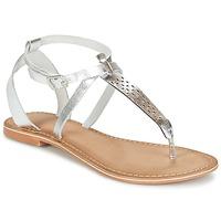 Παπούτσια Γυναίκα Σανδάλια / Πέδιλα Vero Moda VMANNELI LEATHER SANDAL Silver