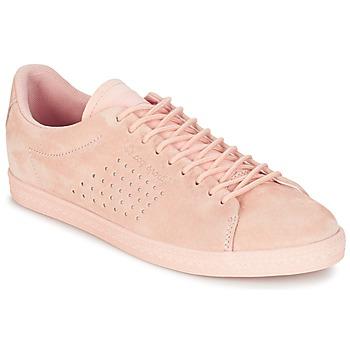 Παπούτσια Γυναίκα Χαμηλά Sneakers Le Coq Sportif CHARLINE NUBUCK ροζ
