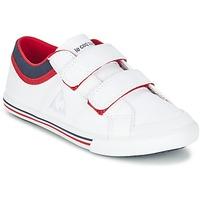 Παπούτσια Αγόρι Χαμηλά Sneakers Le Coq Sportif SAINT GAETAN PS CVS άσπρο / Red