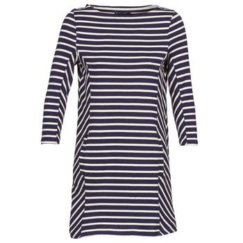 Υφασμάτινα Γυναίκα Κοντά Φορέματα Petit Bateau LESS MARINE / Beige