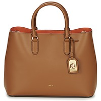 Τσάντες Γυναίκα Cabas / Sac shopping Ralph Lauren DRYDEN MARCY TOTE Brown / Orange