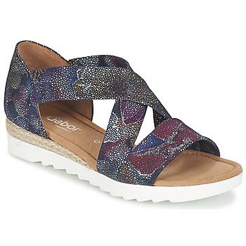 Παπούτσια Γυναίκα Σανδάλια / Πέδιλα Gabor WOLETTE Μπλέ / Violet