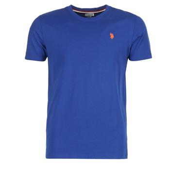 Υφασμάτινα Άνδρας T-shirt με κοντά μανίκια U.S Polo Assn. DBL HORSE μπλέ