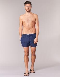 Υφασμάτινα Άνδρας Μαγιώ / shorts για την παραλία U.S Polo Assn. AXEL SWIM TRUNK MED MARINE