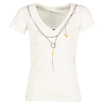 Υφασμάτινα Γυναίκα T-shirt με κοντά μανίκια Oxbow TWIN Άσπρο