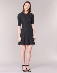 Υφασμάτινα Γυναίκα Κοντά Φορέματα Loreak Mendian ZENIT Black