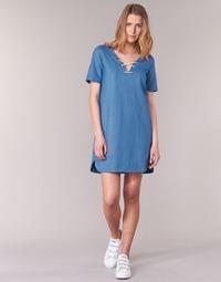 Υφασμάτινα Γυναίκα Κοντά Φορέματα Loreak Mendian TXANGAI μπλέ