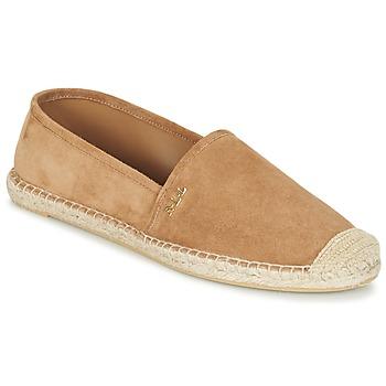 Παπούτσια Γυναίκα Εσπαντρίγια Ralph Lauren DANITA ESPADRILLES CASUAL CAMEL