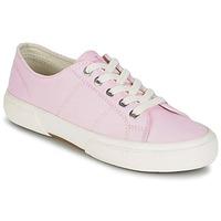 Παπούτσια Γυναίκα Χαμηλά Sneakers Ralph Lauren JOLIE SNEAKERS VULC Ροζ