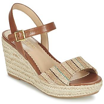 Παπούτσια Γυναίκα Σανδάλια / Πέδιλα Ralph Lauren KEARA ESPADRILLES CASUAL Brown / Beige
