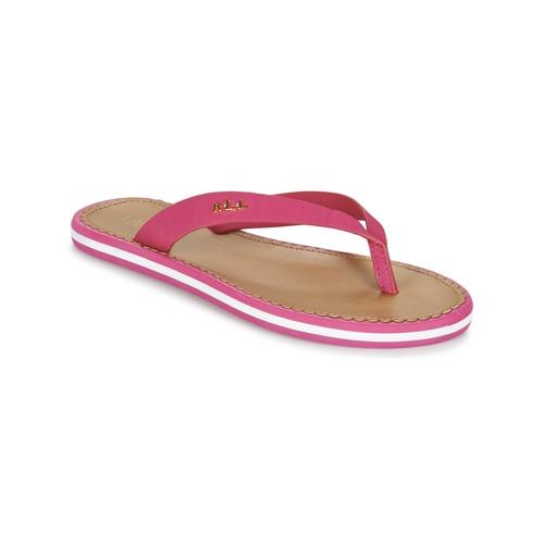 Παπούτσια Γυναίκα Σαγιονάρες Ralph Lauren RYANNE SANDALS CASUAL ροζ