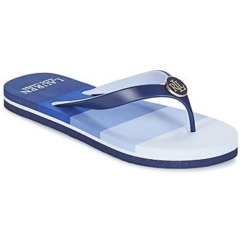 Παπούτσια Γυναίκα Σαγιονάρες Ralph Lauren ELISSA III SANDALS CASUAL μπλέ