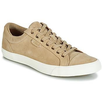 Παπούτσια Άνδρας Χαμηλά Sneakers Polo Ralph Lauren GEFFREY Camel