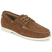 Παπούτσια Άνδρας Boat shoes Ralph Lauren BIENNE II Brown