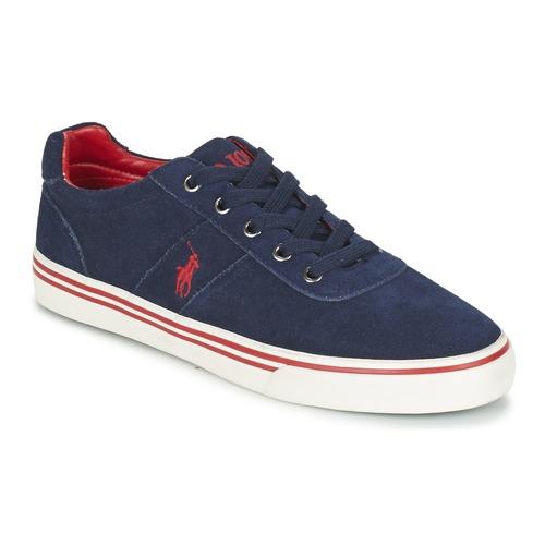Παπούτσια Άνδρας Χαμηλά Sneakers Polo Ralph Lauren HANFORD Marine