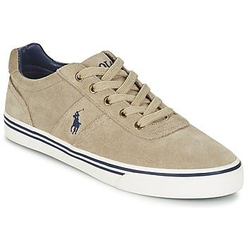 Παπούτσια Άνδρας Χαμηλά Sneakers Ralph Lauren HANFORD Taupe