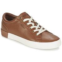 Παπούτσια Άνδρας Χαμηλά Sneakers Ralph Lauren ALDRIC II Brown
