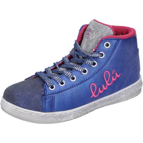 Παπούτσια Κορίτσι Ψηλά Sneakers Lulu Αθλητικά AH227 Μπλε