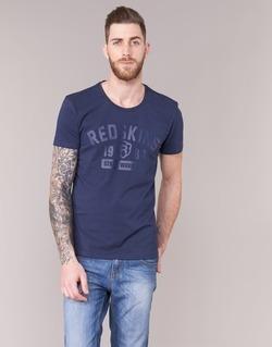 Υφασμάτινα Άνδρας T-shirt με κοντά μανίκια Redskins BALLTRAP 2 MARINE