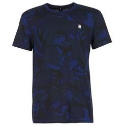 Υφασμάτινα Άνδρας T-shirt με κοντά μανίκια G-Star Raw HOYN MARINE / μπλέ