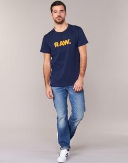Υφασμάτινα Άνδρας T-shirt με κοντά μανίκια G-Star Raw RAW DOT MARINE