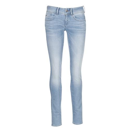 Υφασμάτινα Γυναίκα Skinny jeans G-Star Raw LYNN MID SKINNY Μπλέ /  clair