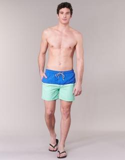 Υφασμάτινα Άνδρας Μαγιώ / shorts για την παραλία Gant CUT & SEWN SWIM SHORT Green / Marine