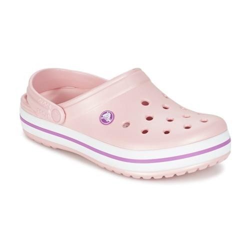Παπούτσια Γυναίκα Σαμπό Crocs CROCBAND Ροζ