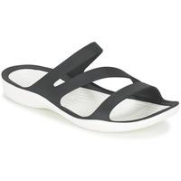 Παπούτσια Γυναίκα Σανδάλια / Πέδιλα Crocs SWIFTWATER SANDAL W Black / Άσπρο
