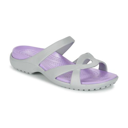 Παπούτσια Γυναίκα Σανδάλια / Πέδιλα Crocs MELEEN TWIST Grey