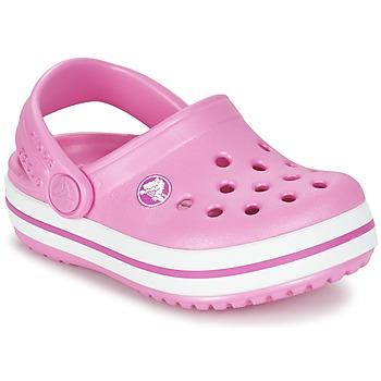 Παπούτσια Κορίτσι Σαμπό Crocs Crocband Clog Kids Ροζ