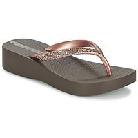 Παπούτσια Γυναίκα Σαγιονάρες Ipanema MESH PLAT II Brown / ροζ