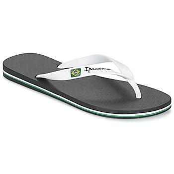 Παπούτσια Άνδρας Σαγιονάρες Ipanema CLASSICA BRASIL II Black / Άσπρο
