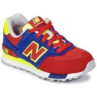 Παπούτσια Παιδί Χαμηλά Sneakers New Balance KL574 μπλέ / Red / Yellow