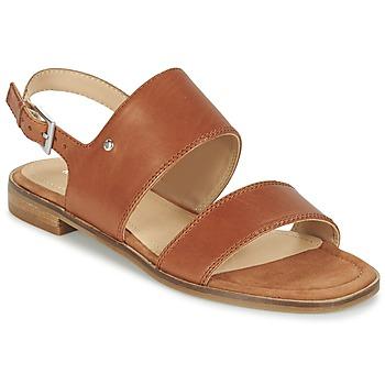 Παπούτσια Γυναίκα Σανδάλια / Πέδιλα Marc O'Polo MIKILOP Cognac