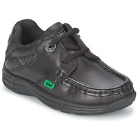 Παπούτσια Παιδί Boat shoes Kickers REASON LACE Black