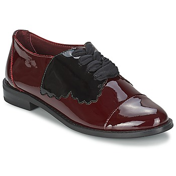 Παπούτσια Γυναίκα Derby F-Troupe Butterfly Shoe Burgundy