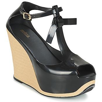 Παπούτσια Γυναίκα Σανδάλια / Πέδιλα Melissa PEACE VI Black / Beige