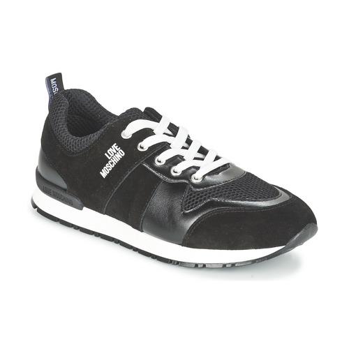 Παπούτσια Γυναίκα Χαμηλά Sneakers Love Moschino JA15062G13 Black