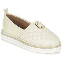 Παπούτσια Γυναίκα Εσπαντρίγια Love Moschino JA10093G13 Κρεμ